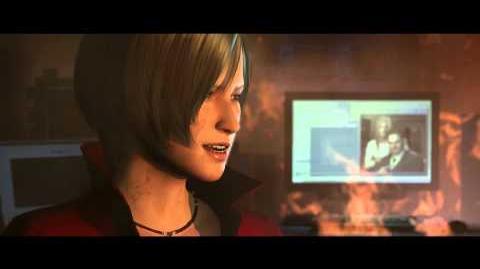 Resident Evil 6 all cutscenes - Ada's Smile