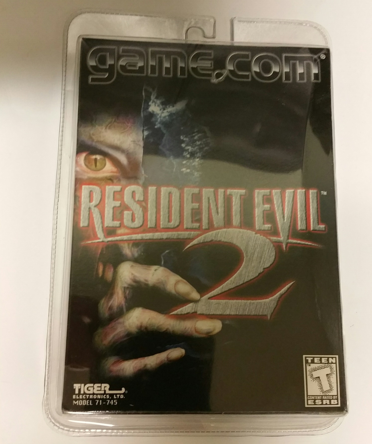 Image - Tiger Electronics Inc  Resident Evil Game Cover | Resident