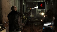 RE6 enemy tagged