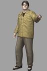 Resident evil outbreak george hamilton artwork concept art 3d model ingame alternate costume