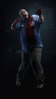 Zombie2 Resident Evil 2 re2 remake 2019 artwork