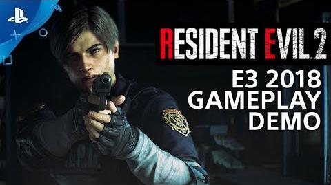 Resident Evil 2 - PS4 Gameplay Demo PlayStation Live From E3 2018