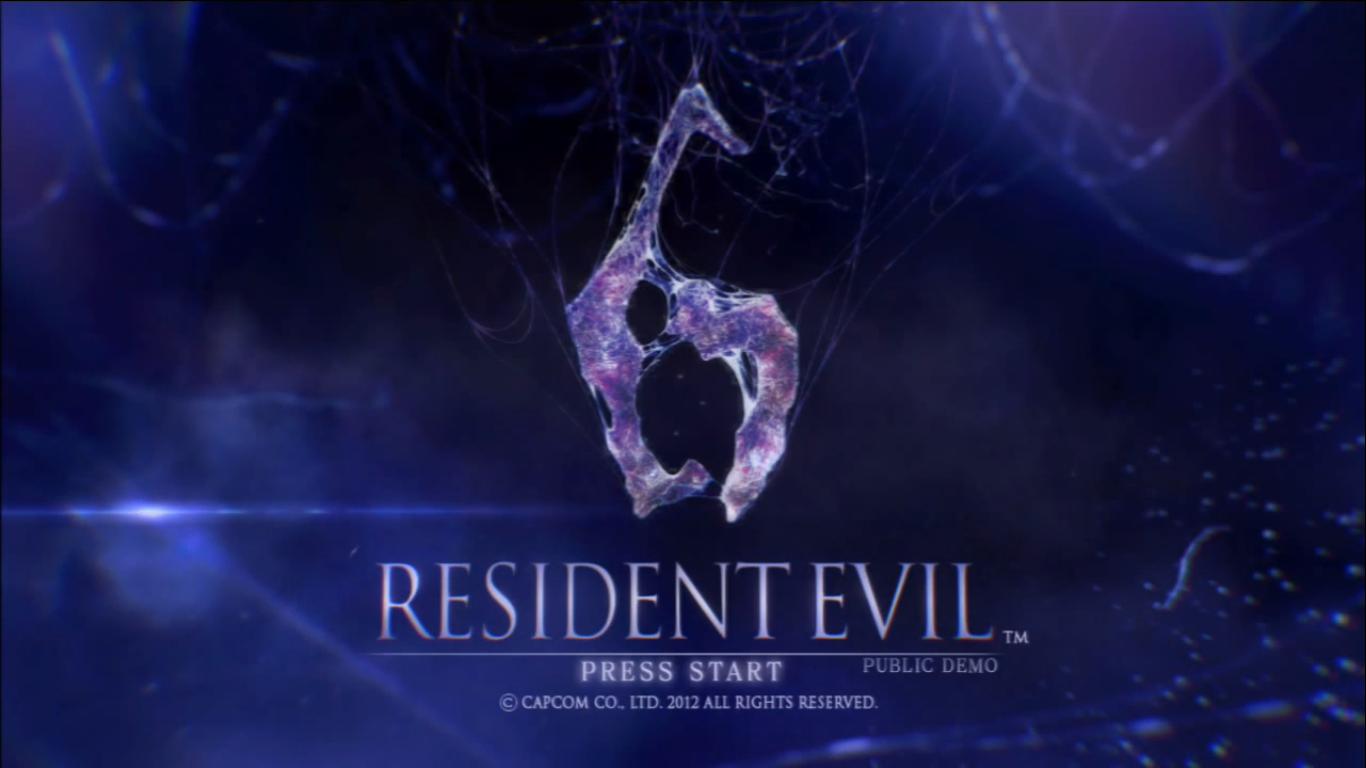 Resident Evil 6 Demo Public Release Resident Evil Wiki Fandom