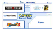 TGS 2019 Capcom booth map (1)