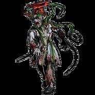 BIOHAZARD Clan Master - BOW art - Green Zombie