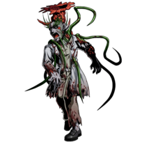 BIOHAZARD Clan Master - BOW art - Green Zombie