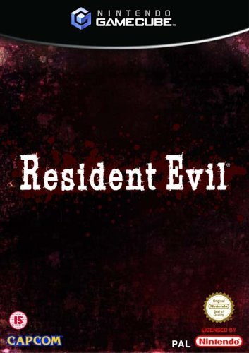 Resident Evil Remake Box Art Europe