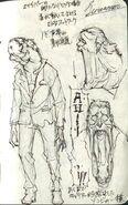 Shrieker Concept Art Resident Evil 6 File
