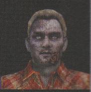 Degeneration Zombie face model 62
