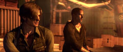 RE6 Leon and Jake