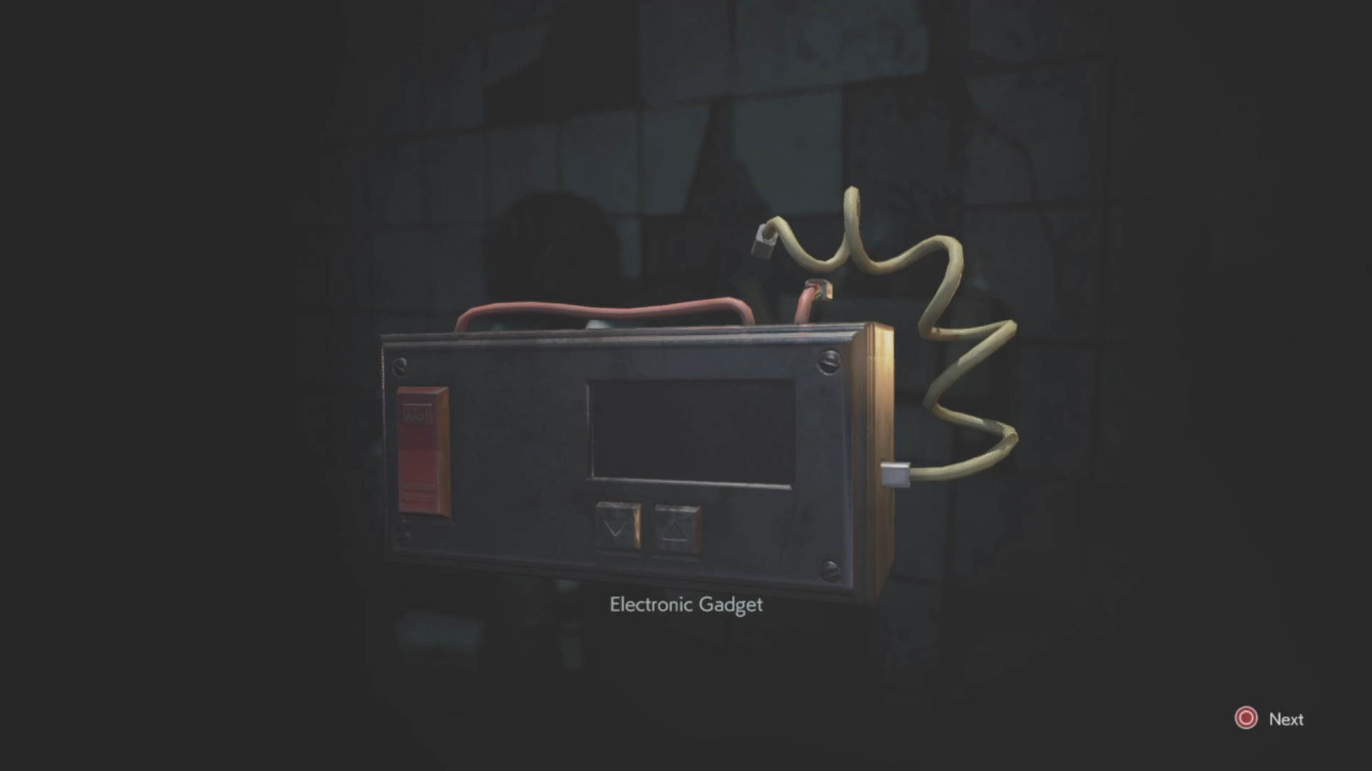 Resident evil 2 detonator