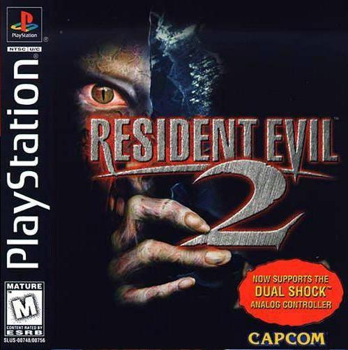 resident evil 2 dualshock