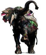 RE Outbreak - Zombie Elephant