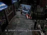 Resident Evil 3 Nemesis screenshot - Uptown - Boulevard examine 07