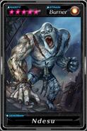 Deadman's Cross - Ndesu card