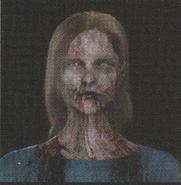 Degeneration Zombie face model 7