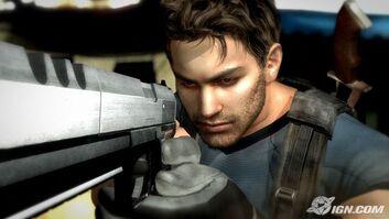 RE4 Handgun in RE5