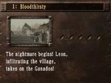 Story 1: Bloodthirsty
