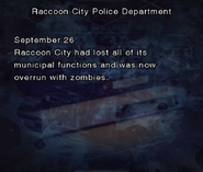 RE DC Raccoon City Police Department file page4