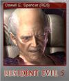 Resident Evil 5 Biohazard 5 Foil 7