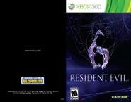 Resident Evil 6 Online Manual Xbox 360 1