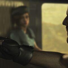 Барри в Resident Evil HD