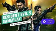 10 Minutes of Resident Evil 5 Gameplay on Nintendo Switch - Comic Con 2019