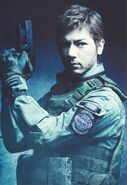 Chris Redfield Biohazard the stage promotional cover2