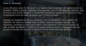 Leon S. Kennedy (Archivo)