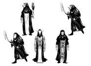 Resident Evil 4 Digital Archives - Human Zealots Female Concepts P.63