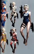 Sherry RE6 Extra Costumes 2