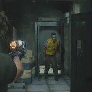 Zombie Brad Safety Deposit Room RE3make