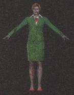 Degeneration Zombie body model 55