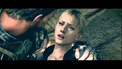 Jill in Chris' Arms