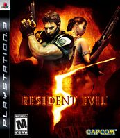 RE5 PS3 cover