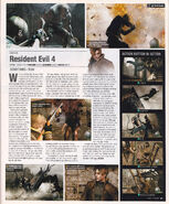Resident Evil 4 - Game Informer July 2004, Issue 135 - p85