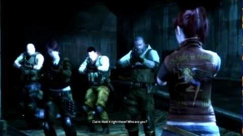Resident Evil Operation Raccoon City all cutscenes - Meeting Claire Redfield (Shona, Tweed)