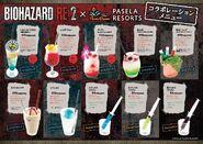 BIOHAZARD RE-2 X Bar Rhythm menu2
