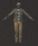 Degeneration Zombie body model 48