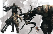 Resident Evil 6 Artworks - Creature Design (30)
