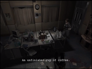 Resident Evil Outbreak Hive examine - Doctor's station 1