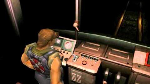 Resident Evil 3 Nemesis cutscenes - Activating the tram