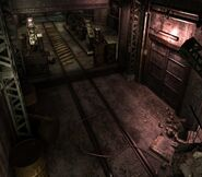 Arklay factory - Laboratory passage background 10