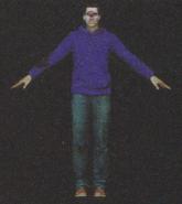 Degeneration Zombie body model 7