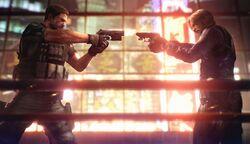 Leon vs. Chris