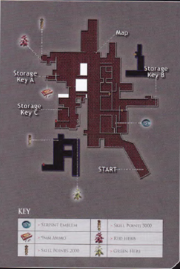 Resident Evil 6 BradyGames guide - Market map