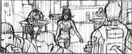 Resident Evil 6 storyboard - Fallen Hero 4