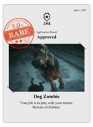 Zombieswanted dog zombie