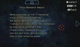 Informe sobre investigación vírica