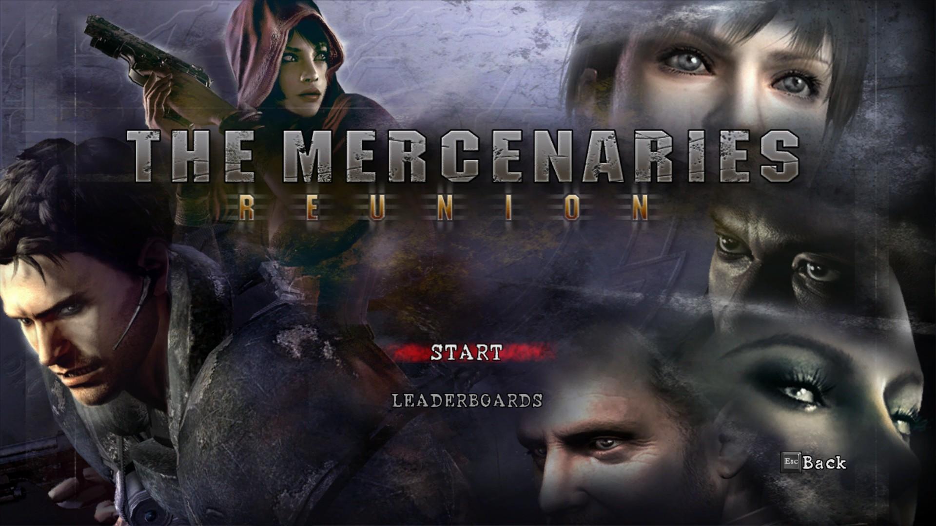 The Mercenaries Reunion Resident Evil Wiki Fandom